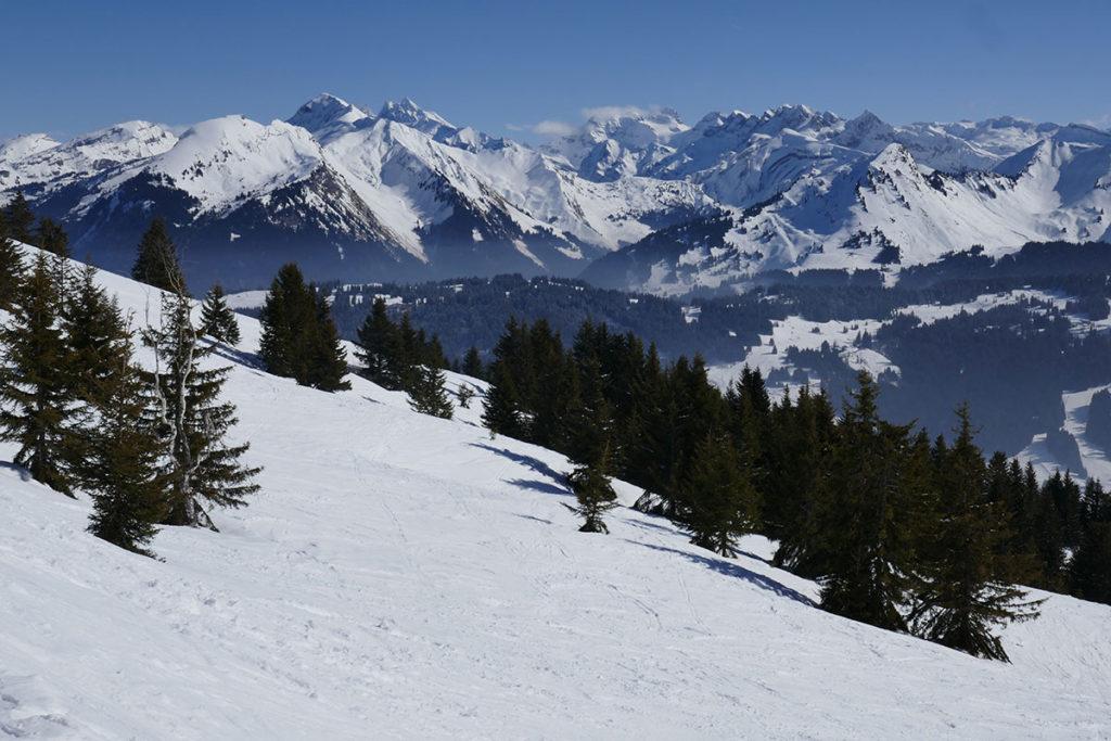 Sortie aux Gets en Haute-Savoie