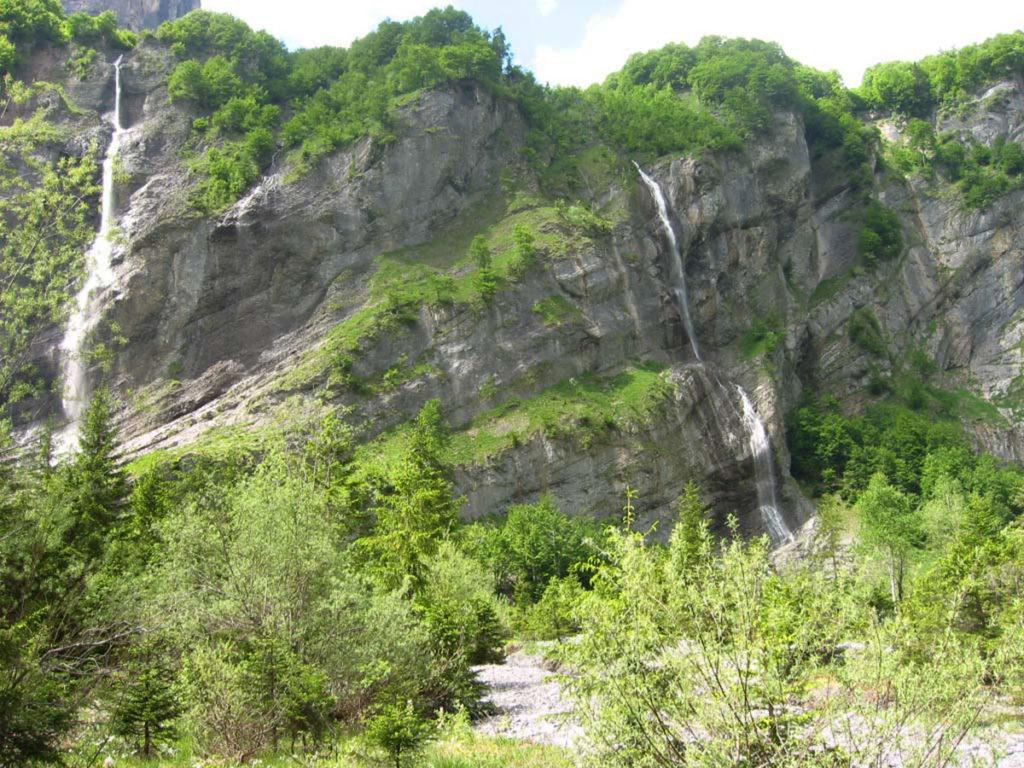 sortie et balade entre cascade à Sixt Haute-Savoie