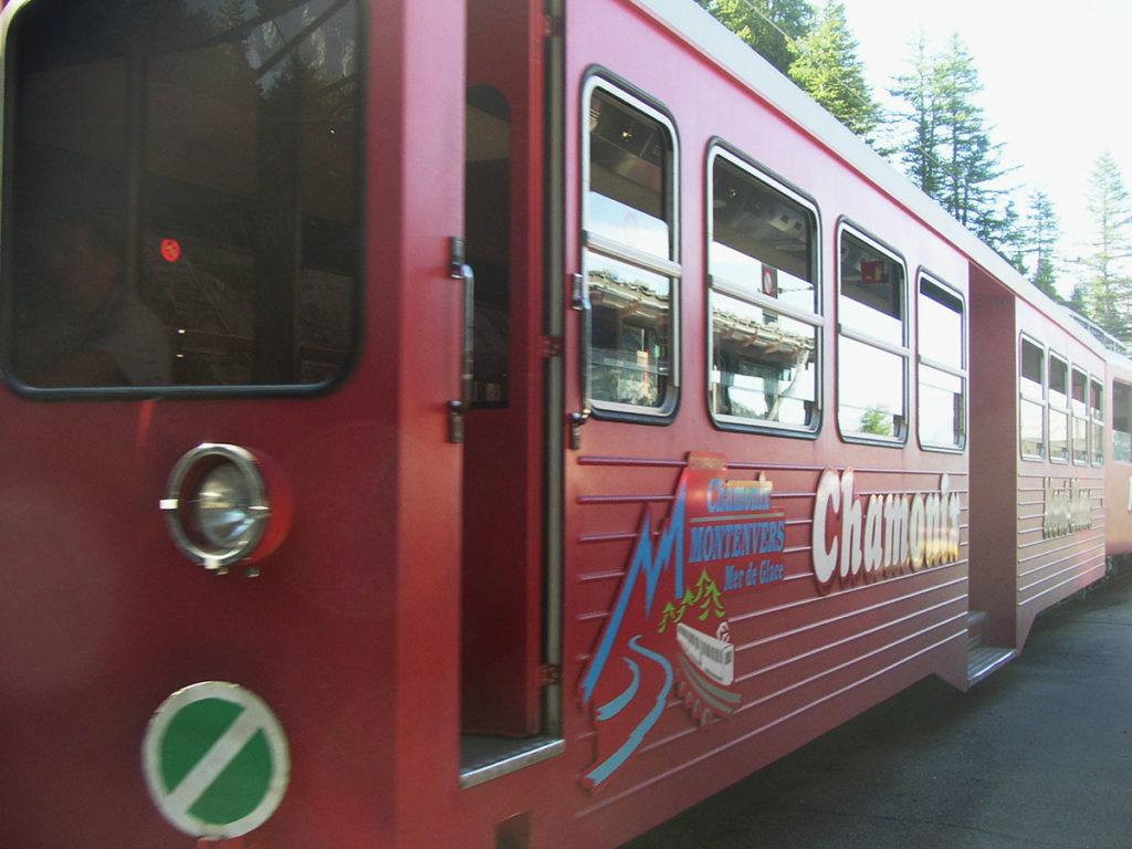 Idée de sortie en Haute-Savoie la mer de Glace