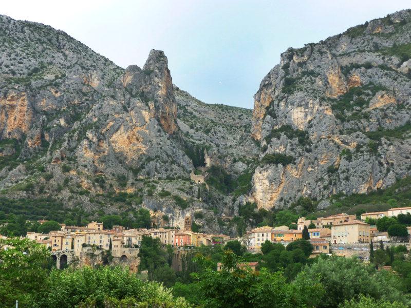 Alpes de Haute-Provence : un week-end à Moustiers-Sainte-Marie, Verdon