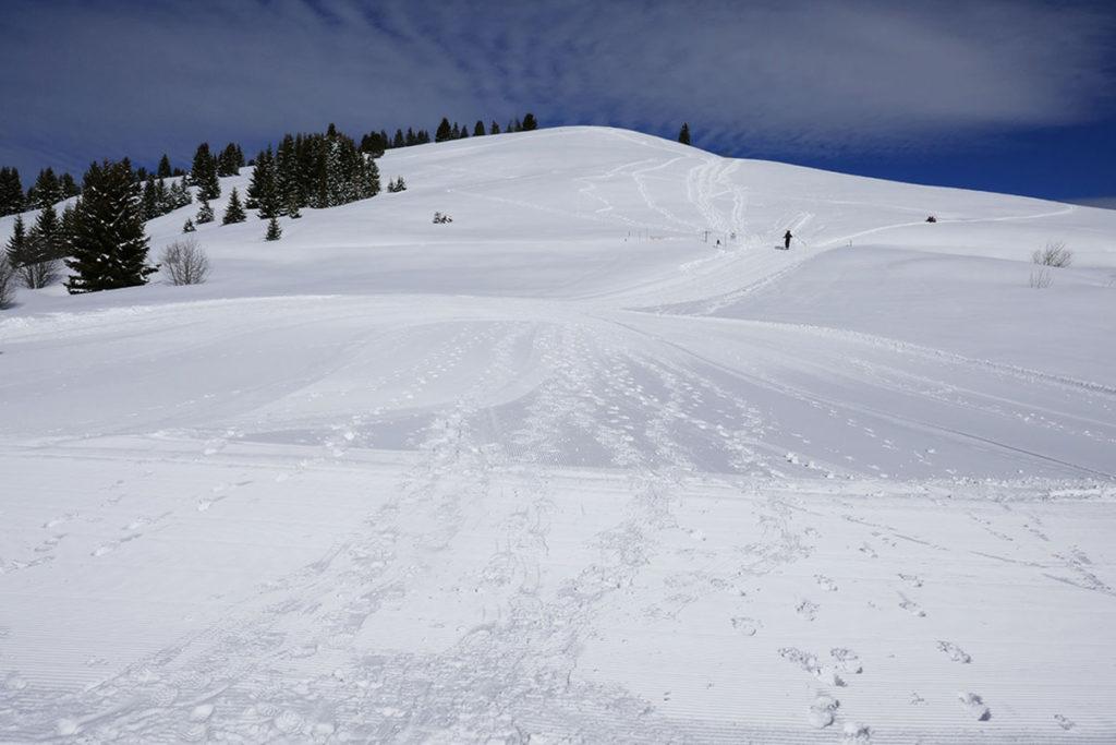 Le Mont-Caly balade aux Gets en Haute-Savoie
