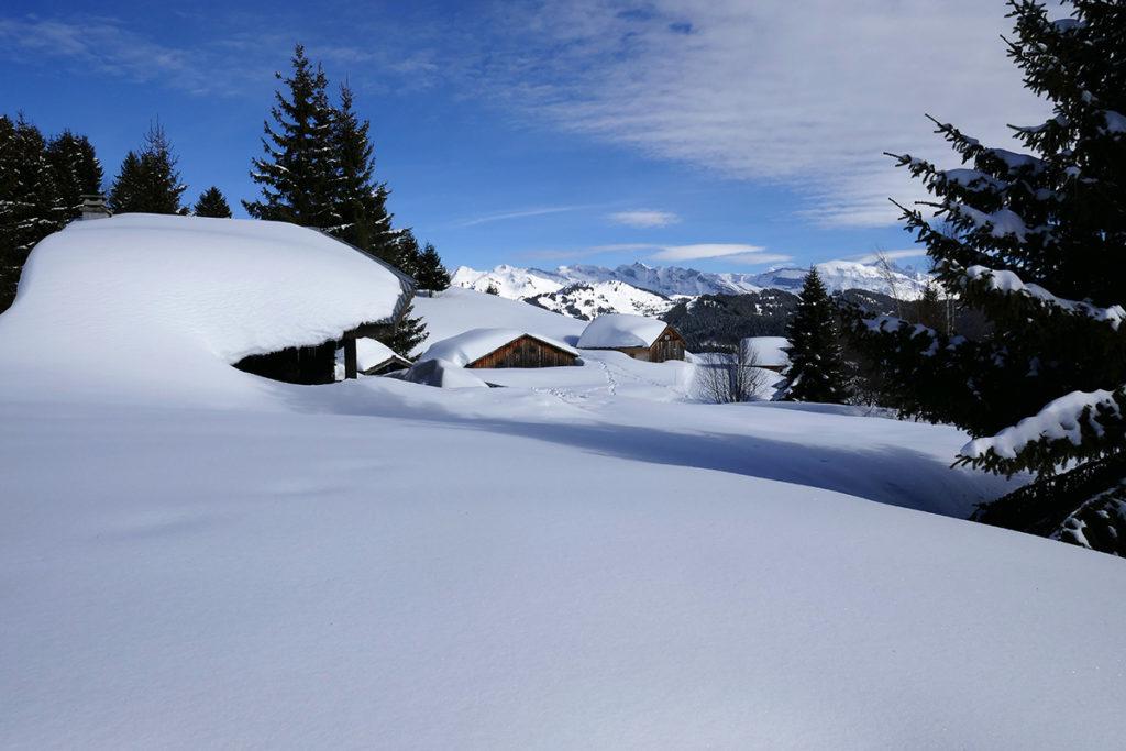 Le Mont-Caly aux Gets, sortie en Haute-Savoie