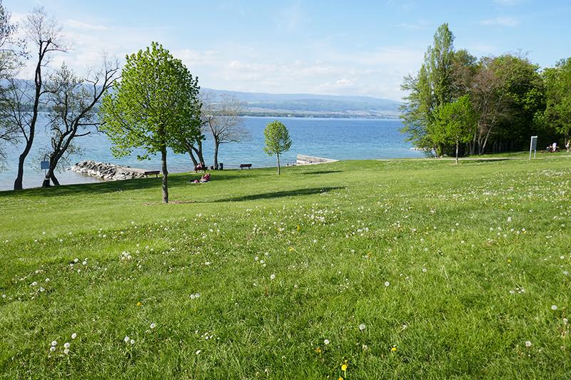 belles plages lac léman Messery