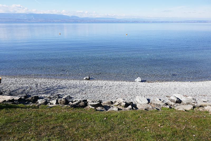 belle plage lac léman thonon-les-bains