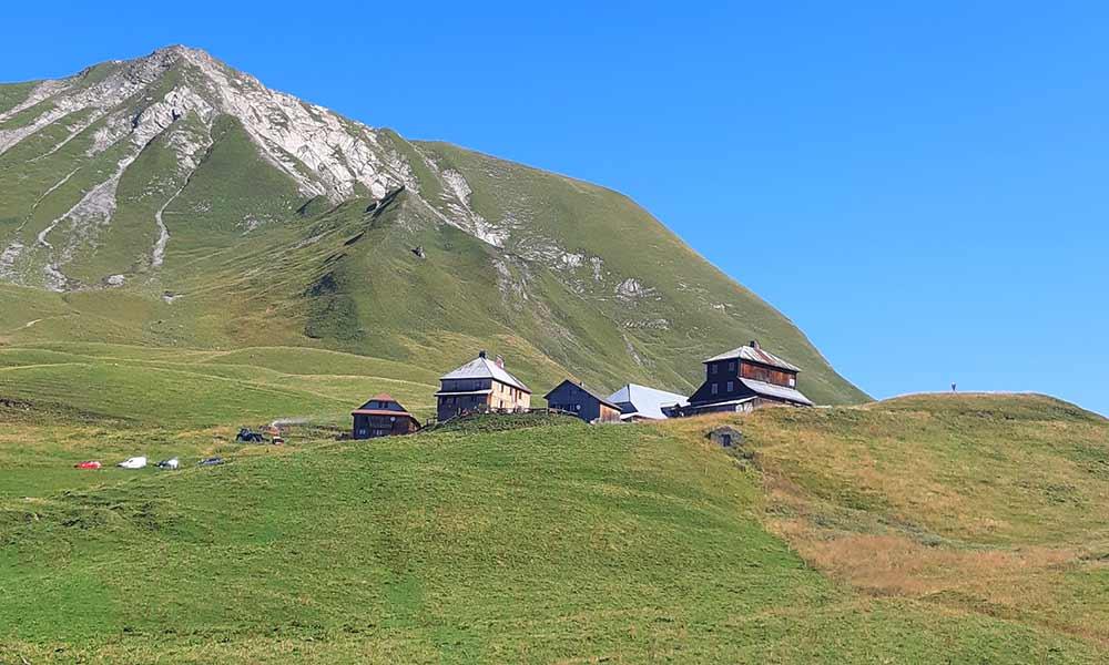 Grand-Bornand : randonnée au Col et tête des Annes