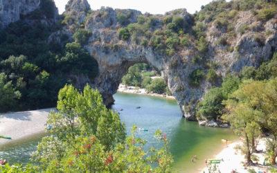 L'Ardèche : week-end baignade et patrimoine