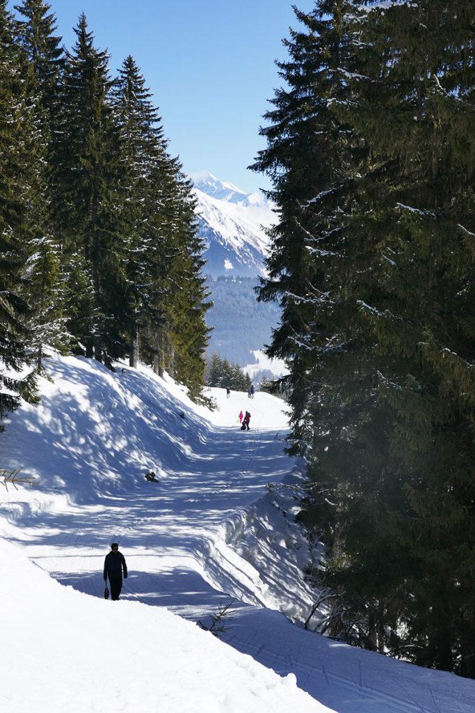 sortie et promenade les Gets Haute-Savoie
