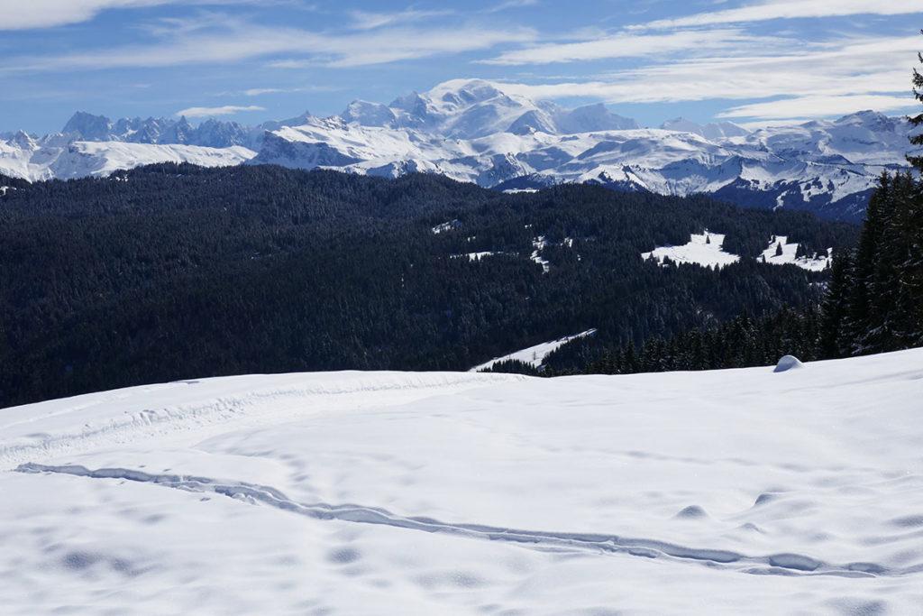 balade et sortie au Mont-Caly les Gets en Haute-Savoie