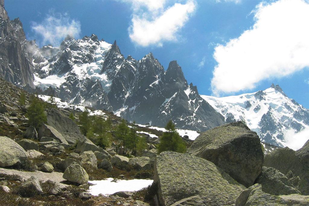 Sortie et balade à Chamonix Haute-Savoie