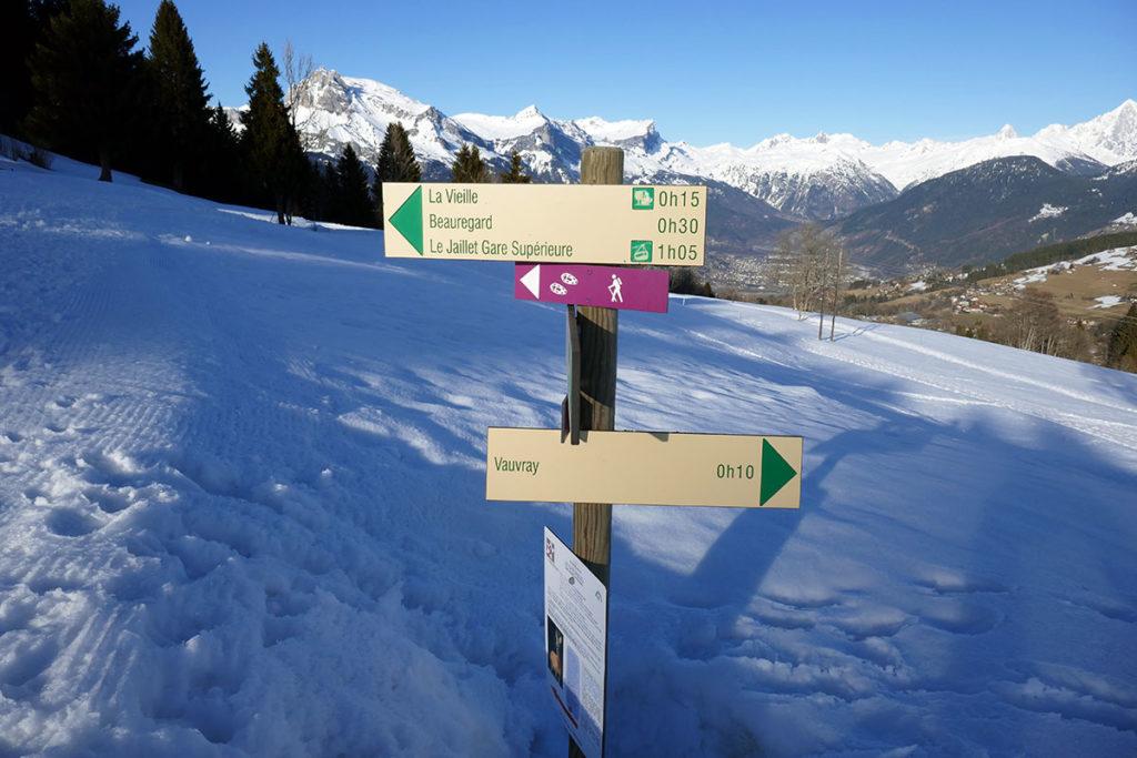 idée de balade Megève Haute-Savoie