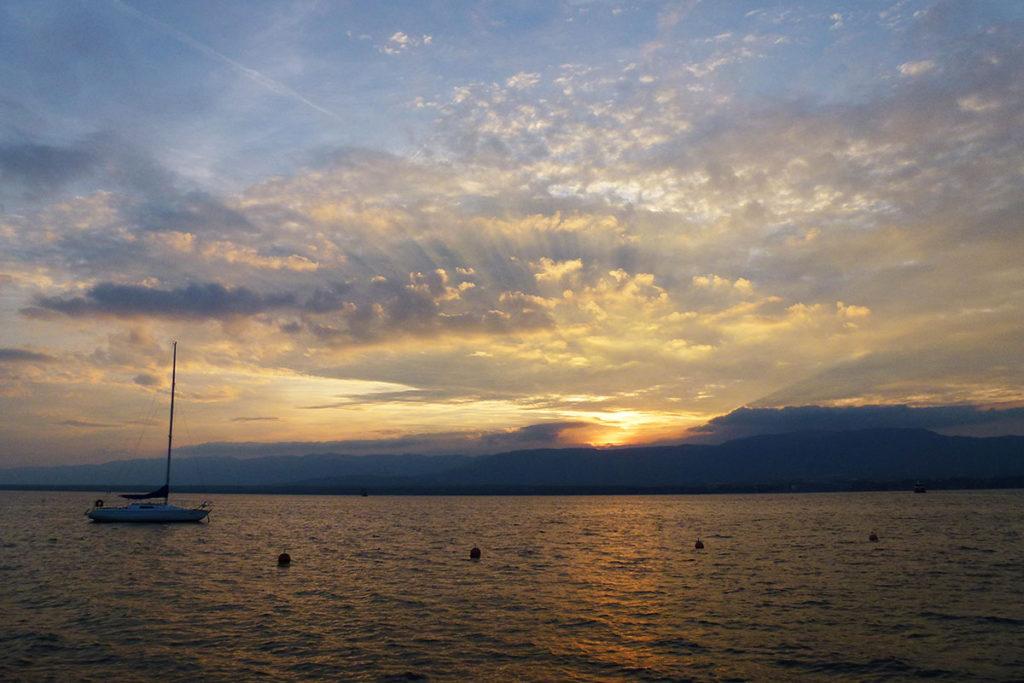 sortie famille Haute-Savoie balade au bord du lac Léman