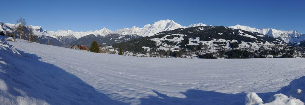 sortie et balade en Haute-Savoie à Megève