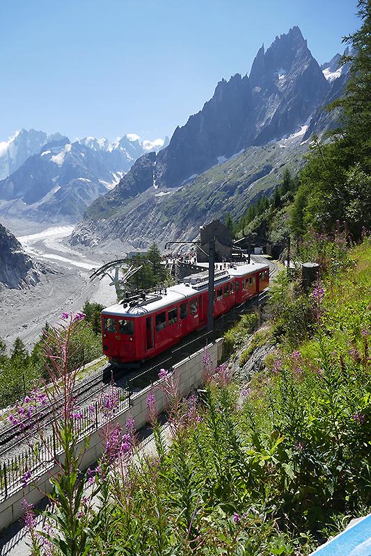 sorties Haute-Savoie mer de glace Chamonix