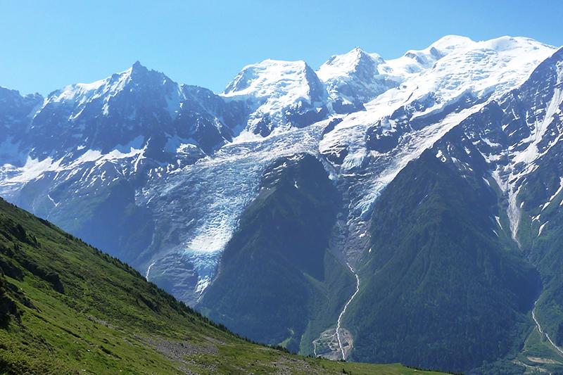 sortie haute-savoie le glacier des bosson