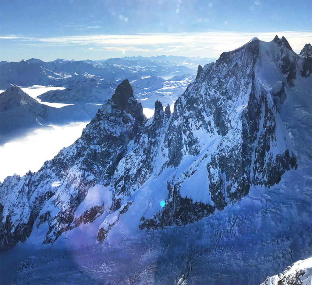 balade chamonix alpes france