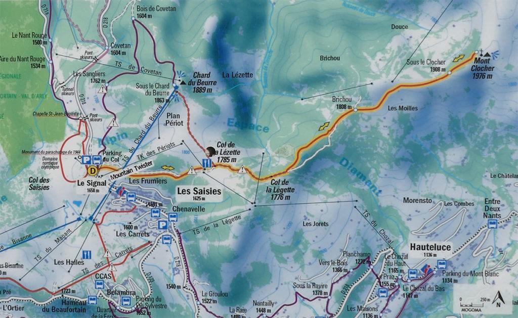 randonnée aux Saisies le mont clocher savoie