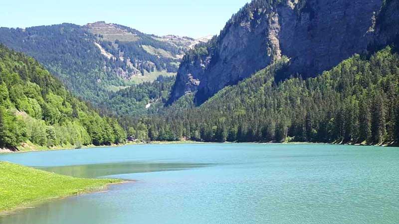 lac montriond balade haute-savoie