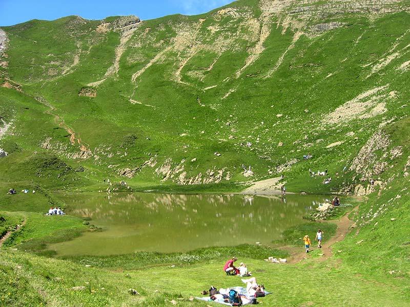 randonnée le lac de Peyre Haute-Savoie