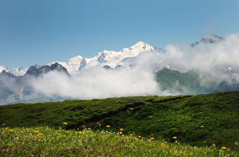 randonnee en famille le lac de Peyre Haute-Savoie