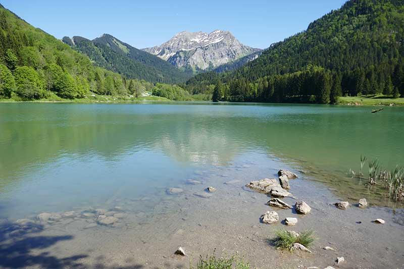 lac de Vallon Bellevaux balade Haute-Savoie