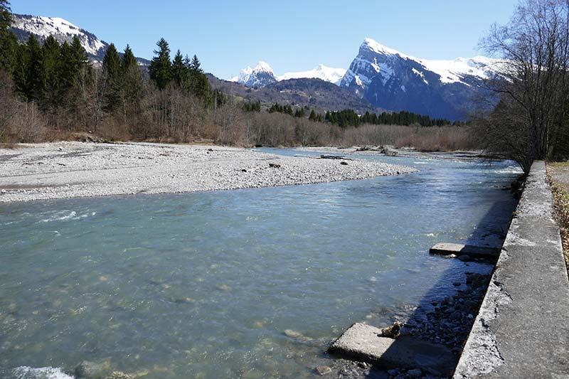 le giffre balade facile Haute-Savoie