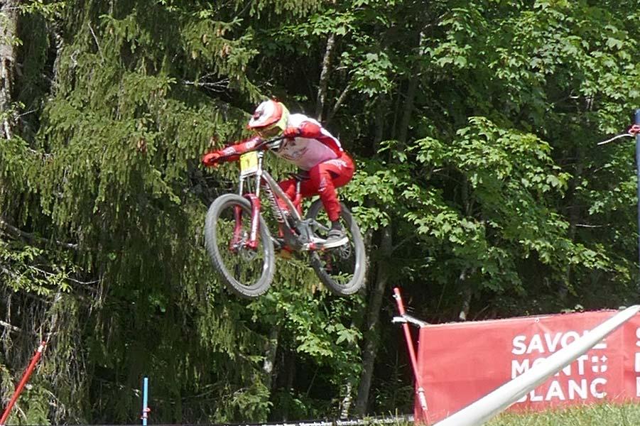 Le week-end dernier aux Gets : Coupe du Monde de VTT descente et Cross Country
