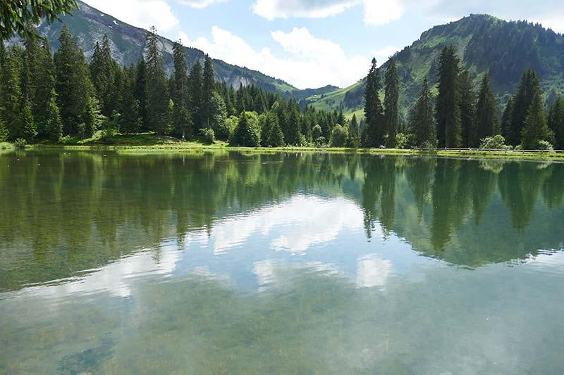 Morzine : balade au Lac des Mines d'Or