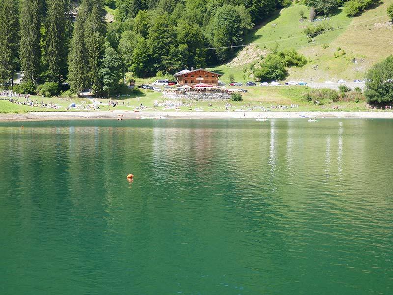 balade lac montriond morzine haute savoie