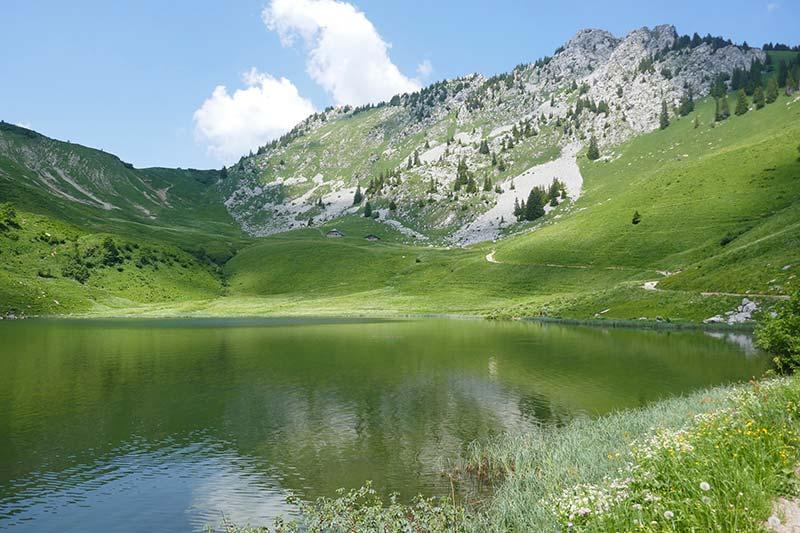 Abondance : randonnée au lac d'Arvouin