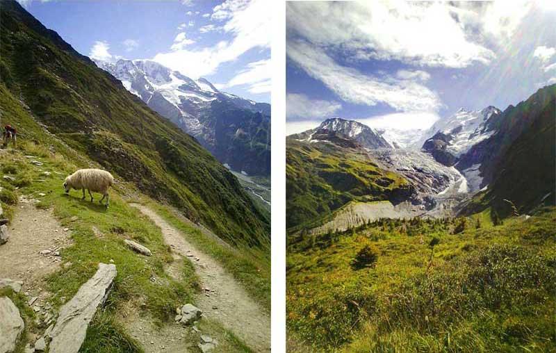 randonnee glacier bionnassay saint-gervais