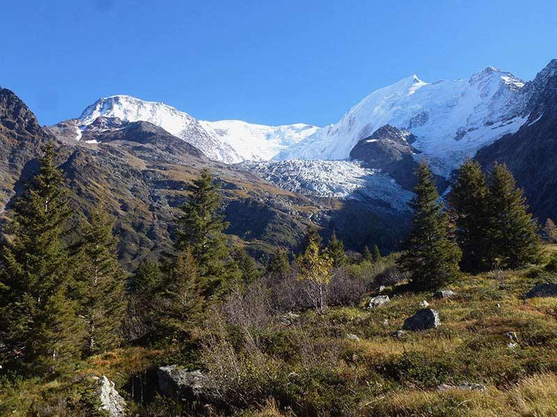 randonnee saint-gervais haute-savoie glacier bionnassay