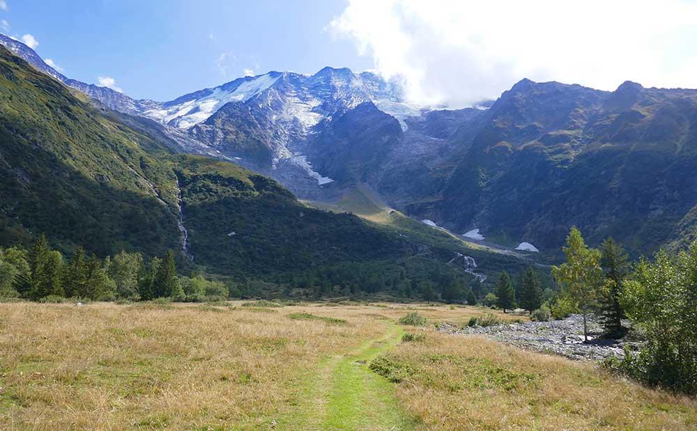 Saint-Gervais : randonnée aux chalets de Miage