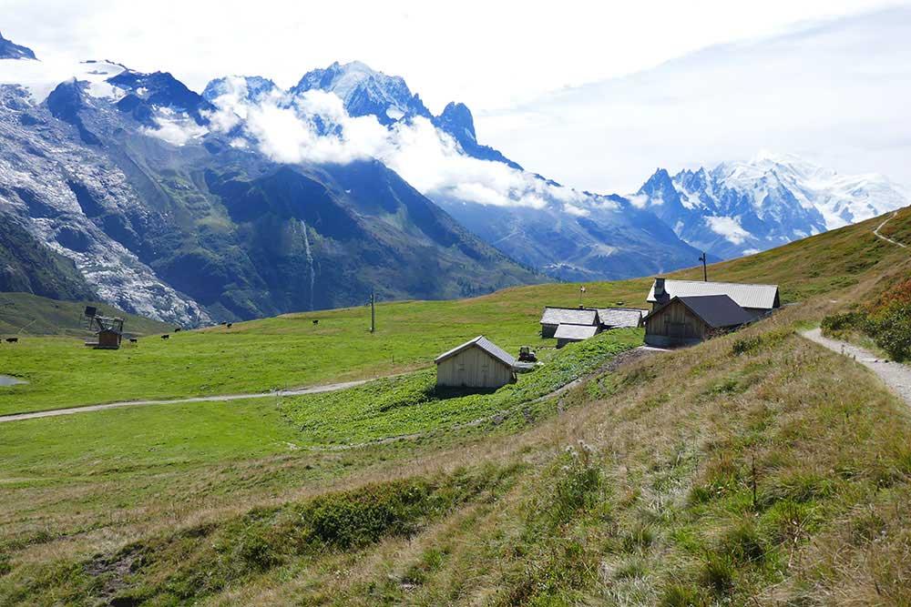 randonnée haute-savoir Argentière aiguillette des posettes