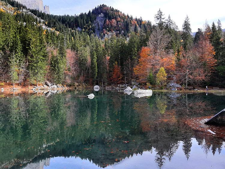 balade lac vert passy plaine joux 74