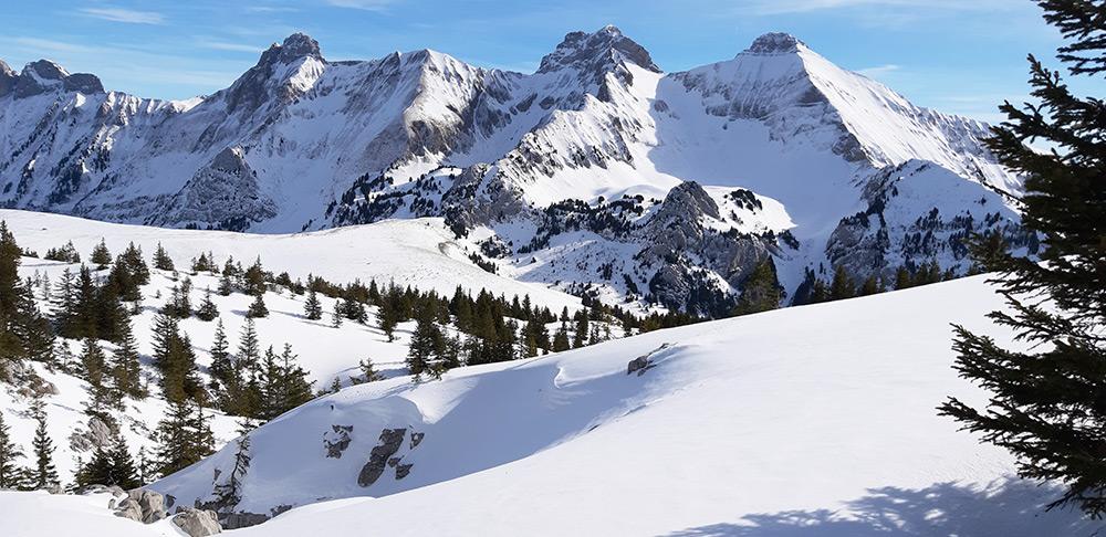 Mont-Saxonnex : randonnée aux Rochers de Leschaux