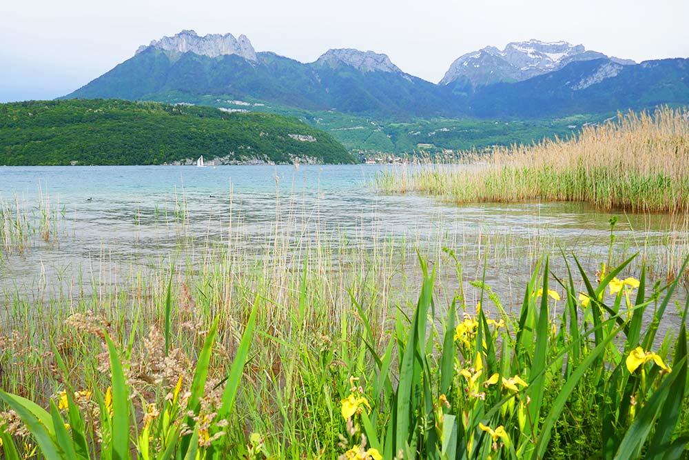les plus belles plages lac d'annecy