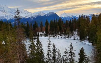 Passy-Plaine Joux : petite balade au lac vert