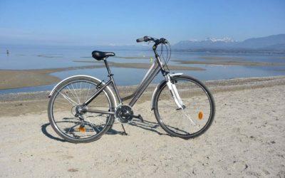 Des balades faciles en vélo en Haute-Savoie