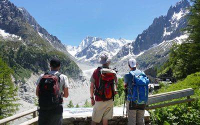 Chamonix : randonnée à la Mer de Glace