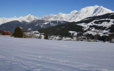 Megève-Combloux : balade au Col du Jaillet