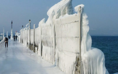 Le lac Léman : balade en hiver