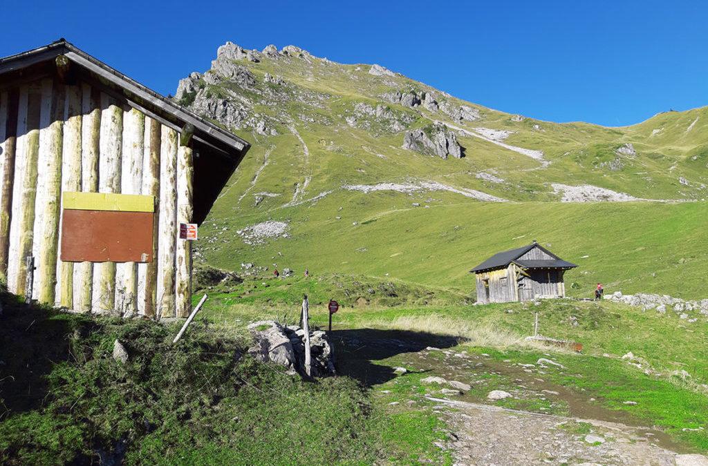Praz de Lys et Sommand : randonnée à la pointe de Chalune
