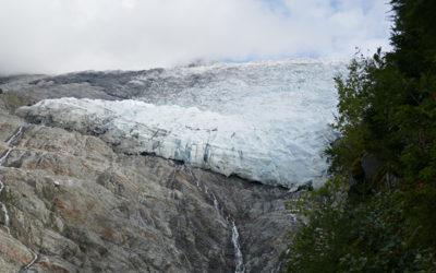 Chamonix : balade au glacier des Bossons